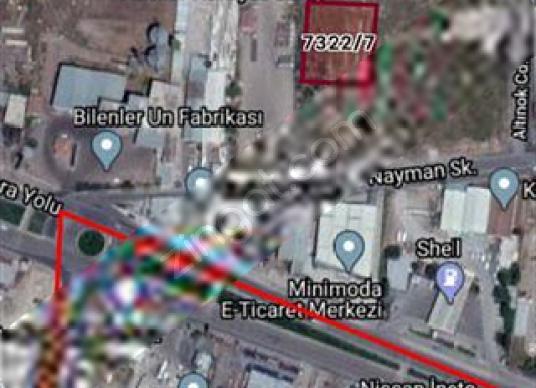 PLATİN ANBAR DA 2169 M2 Ticari Parsel - Harita