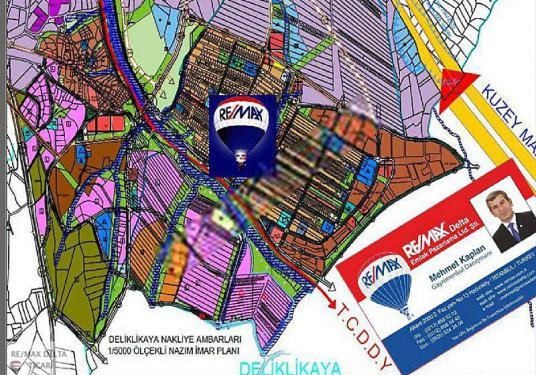 Arnavutköy Hadımköy DESB - Bahçeşehir de Satılık Sanayi Arsaları - Harita
