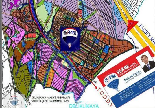 REMAX-Delta'dan DESB-MÜSİAD'da DELİKLİKAYA Sanayi Arsaları - Harita