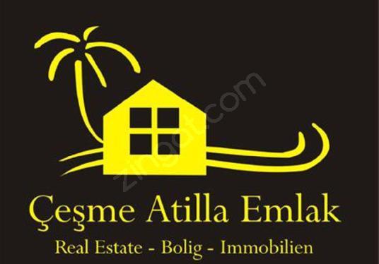Alaçatıda Satılık Arsa Köşe Parsel Atilla Emlak Çeşme - Logo