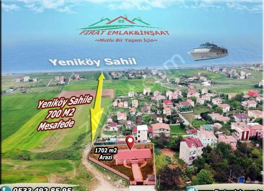 1702 square meters Field For Sale in Arnavutköy, İstanbul - Arsa