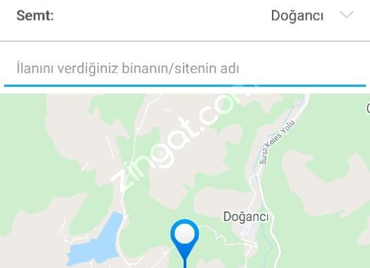 Osmangazi Doğancı'da Satılık Çok Amaçlı - Kat Planı