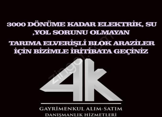 KONYA MERKEZE YAKIN YATIRIMLIK TARIM ARAZİSİ - Logo