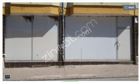 120 m2 dublex aydogan mah cadde üstü dükkan - Dış Cephe