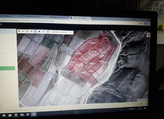 AFYON ANKARA YOLUNA CEPHELI  SATILIK ÇİFTLİK  ARSA FABRİKA ALANI - Kat Planı