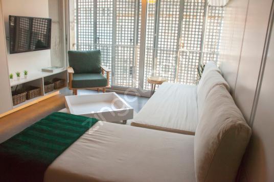 Taksim Gümüşsuyu'nda Modern ve Şık 1+1 Dubleks - Komisyonsuz - Yatak Odası