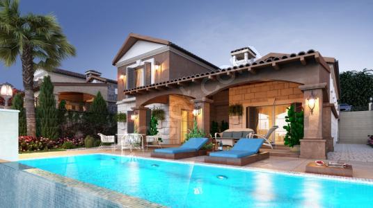 Jupiter Gayrimenkulden Çıftlik Evi Tarzında Müstakil Villa - Yüzme Havuzu