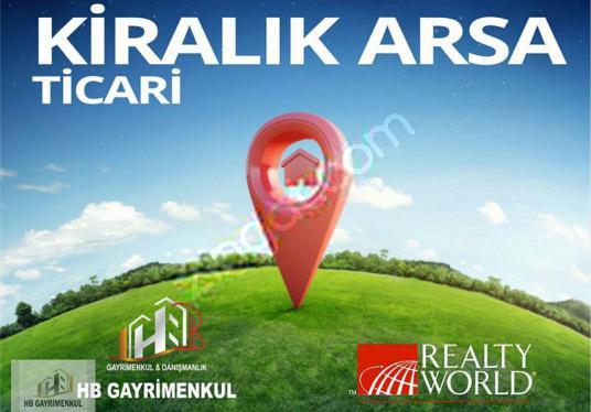 GÖKTÜRK'TE 8500 M2 CADDE ÜZERİNDE KİRALIK ARSA. - Logo