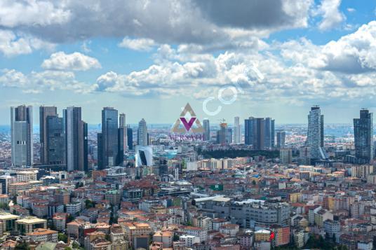 Metrocity de 1000 m2 Özel Dekorasyonlu Emsalsiz Kupon Penthouse - Manzara