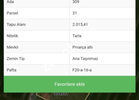 Kapaklı Pınarca'da Satılık Çok Amaçlı