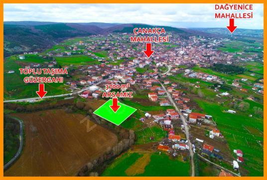 KESTANELİK KÖY MERKEZİNDE 3.700 m2 TEK TAPU - Manzara