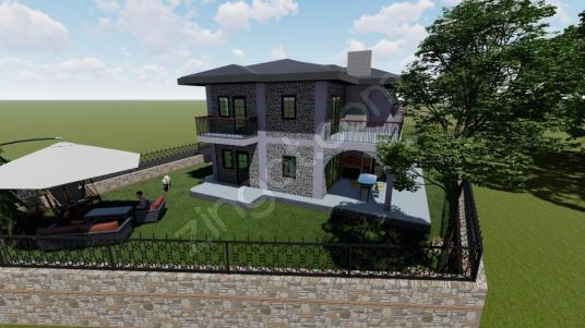Eski Datça - Reşadiye arasında 4+1 villa projesi