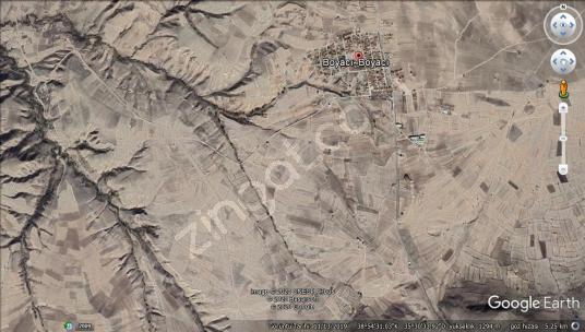BOYACIDA 5500M2 EKİLİR YERİ DÜZ  KENDİ MÜLKÜMÜZ  ACİL SATLIK - Harita