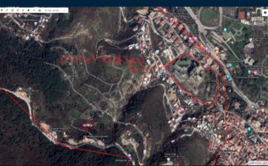 Osmangazi Çekirge'de Satılık Çok Amaçlı - Harita