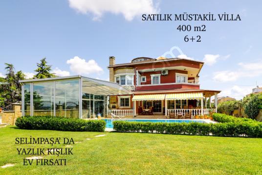 Silivri Selimpaşa Satılık Villa 6+2 FİYATI DÜŞTÜ