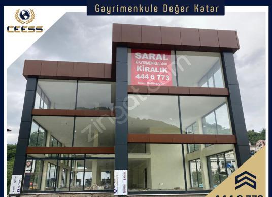 SARAL GAYRİMENKULDEN ANA CADDE ÜZERİ KOMPLE KİRALIK PLAZA - Dış Cephe