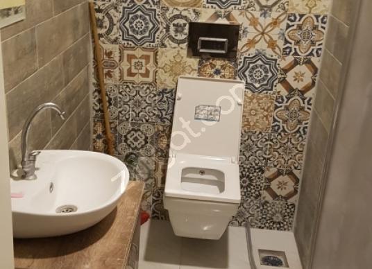 Osmaniye çarşı merkezde full eşyalı bir artı bir Kiralık Daire - Tuvalet