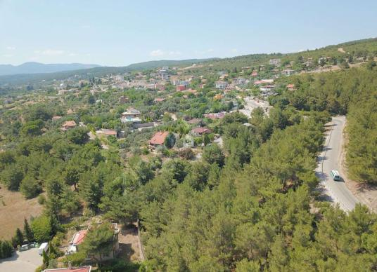 Bornova Yakaköy 2 Dönüm Bahçeli Müstakil Satılık 5+1 Villa - Manzara