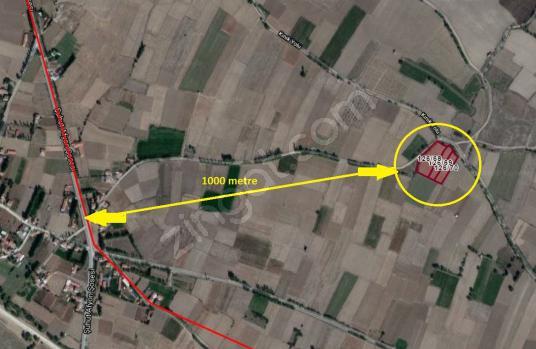 HACIMUSA MAHALLESİ KINIK YOLU ÜZERİNDE DERİNKUYULU 11322M² TARLA