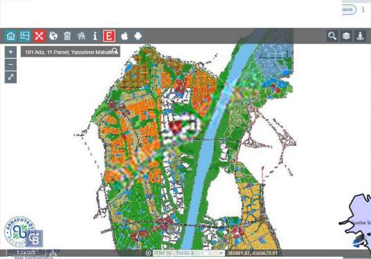 Arnavutköy Yassıören Proje İçi Yatırımlık Arsa - Harita