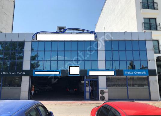 Ankara Blv.da Satılık 1000 m2 Kapalı Çelik Konstrüksiyon İşyeri - Dış Cephe