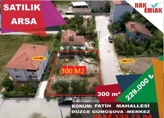 Hak Emlak'tan Gümüşova'da Satılık  300M2 ARSA