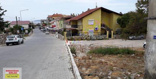 mordoğan emlak tan merkezde çarşı içinde 603m2 köşe arsa - Sokak Cadde Görünümü