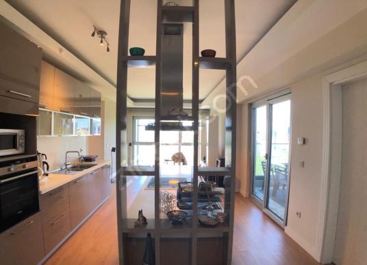 Maslak My Home 3+1 Satılık Önü Full Açık 1453 Manzaralı BOŞ FRST - Salon