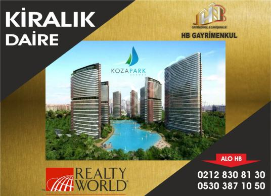 KOZAPARK'TA PANORAMİK ŞEHİR MANZARALI 2+1 125M2 BALKONLU DAİRE - Logo