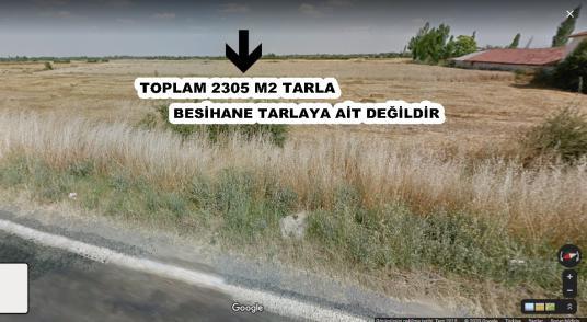 GİRİŞİMCİ'DEN AKŞEHİR ADSIZ MAH.DE SATILIK 2305 M2 TARLA - Arsa