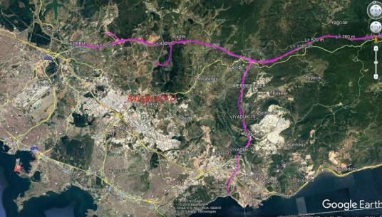 GEBZE BALÇIK'DA 14.149 M² ANAYOLA ÜZERİNDE KİRALIK ARSA BURADA