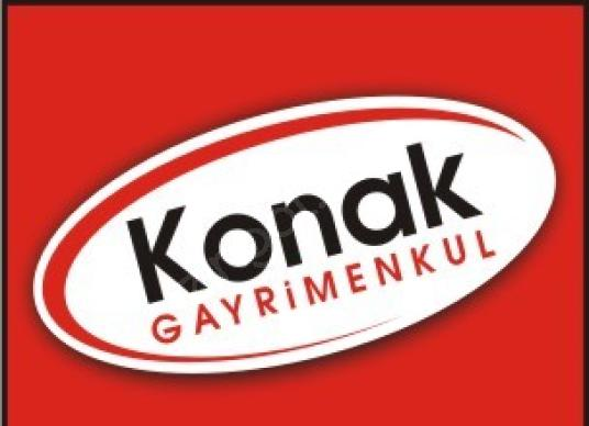 KONAK'TAN Gürselpaşa'da Zemin+Bodrum Sıfır Satılık İşyeri - Logo
