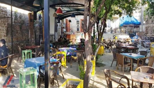 KALEİÇİ MESCİT SOKAKTA 760 m² ARSALI SATILIK BİNA(CAFE KİRACILI) - Sokak Cadde Görünümü