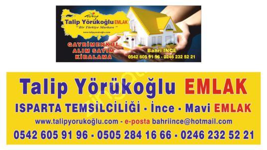 SATILIK DAİRE- TALİP YÖRÜKOĞLU ISP. TEMSİLCİSİ İNCE-MAVİ EMLAK - Logo