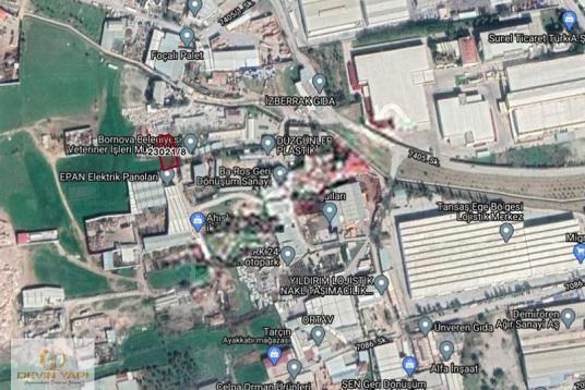 FIRSAT.!Pınarbaşı TansaşDepo Yakını MERKEZİ KONUM Satılık ARAZi - Harita