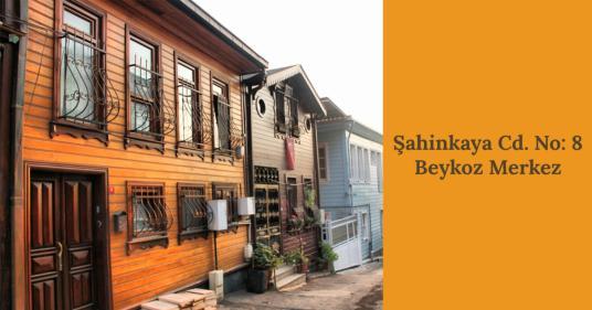 Beykoz Merkez Mahallesinde 2.Derece Tarihi Eser Satılık Villa - Dış Cephe
