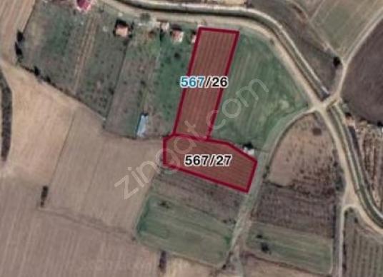 Kırklareli Merkez Pınar'da Satılık Bahçe - Harita