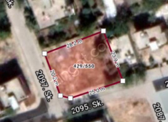 Adıyaman Siteler mh. Satılık arsa 656,31m2 Arsa