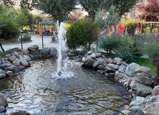 2+1 95 M2 Şerefiye li Daire Tuzla Mimar Sinan'da Satılık Daire - Bahçe