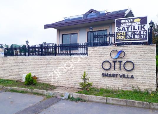 Sarıyer Zekeriyaköy'de 4+2 Kiralık Tripleks Smart Villa - Dış Cephe