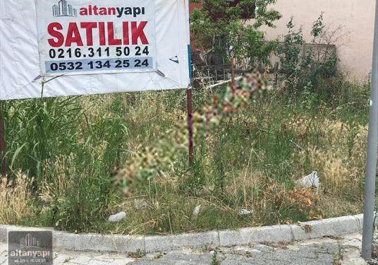 ALTAN'DAN SANCAKTEPE'DE CADDEYE CEPHELİ SATILIK İMARLI ARSA - Bahçe