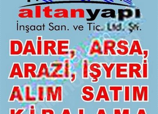 ALTAN'DAN SANCAKTEPE'DE CADDEYE CEPHELİ SATILIK İMARLI ARSA - Logo