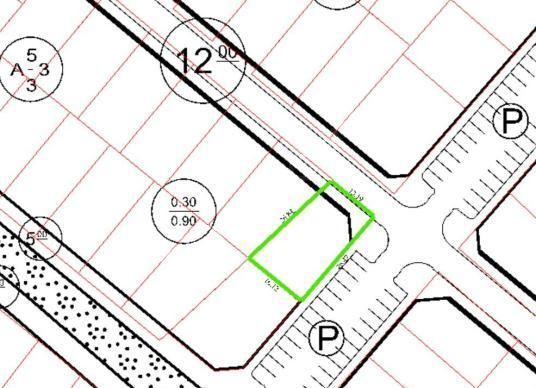 Ergene Sağlık Mahallesinde 3 Kat Konut İmarlı395 m2 Satılık Arsa - Kat Planı