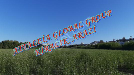 2500 square meters Field For Rent in Kepez, Antalya - Arsa
