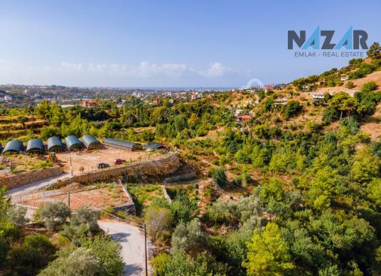 Alanya Kızılcaşehir Mevkii'nde Satılık İmarlı Arsa - Site İçi Görünüm