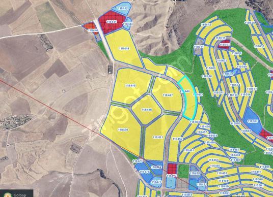 YAYLABAĞ BURSAL YATIRIMLIK 397,21 m2 İMARLI ARSA HİSSESİ - Harita