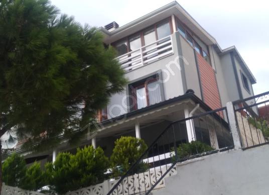 Seferihisar Akarca'da 5+2 Deniz Manzaralı Satılık Villa - Dış Cephe