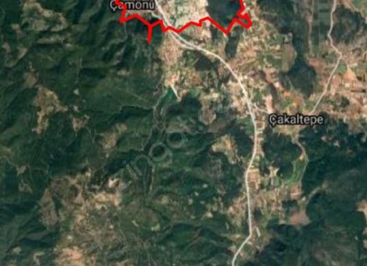 Menderes Çamönü Mahallesinde SATILIK TARLA - Harita