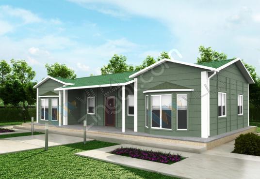 3+1 PREFABRİK EV 106 m²