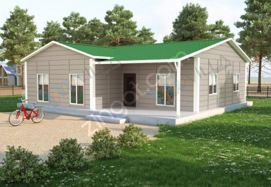 3+1 PREFABRİK EV 117 m²